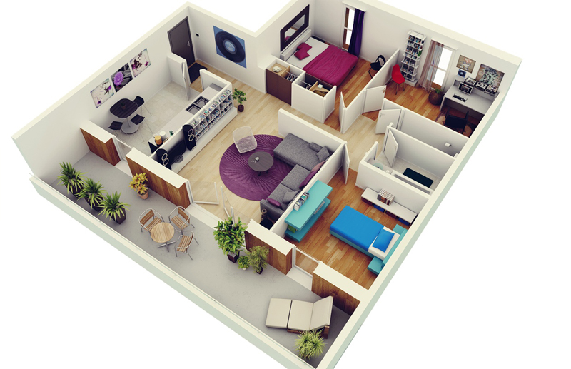 3-bedroom-apartment-plans