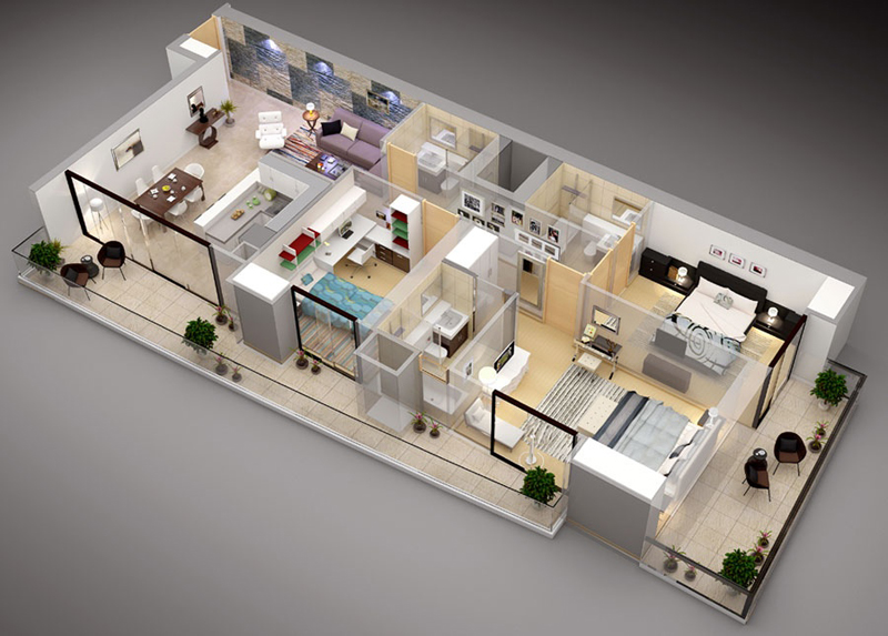 3-bedroom-floor-plan-with-balcony