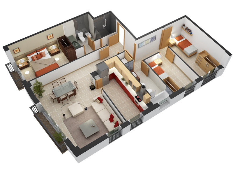 3-bedroom-house-floor-plans