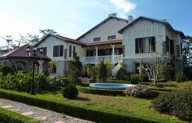 Một biệt thự Pháp cổ đã được tân trang ở Đà Lạt.